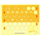 LEGO Sticker Sheet for Set 3142 with Small Icons and Circles (22272)