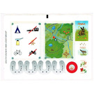 LEGO Sticker Sheet for Set 3143 (22317)