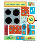 LEGO Sticker Sheet for Set 3149 (22956)