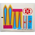 LEGO Sticker Sheet for Set 3151 (22957)