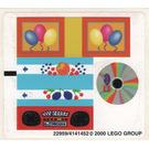 LEGO Sticker Sheet for Set 3159 (22959)