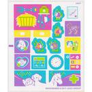 LEGO Sticker Sheet for Set 3188 (99433)