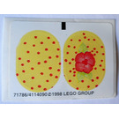 LEGO Sticker Sheet for Set 3210 (71786)
