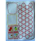 LEGO Sticker Sheet for Set 3240 (71498)