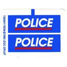 LEGO Sticker Sheet for Set 3314 (72830)