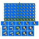LEGO Sticker Sheet for Set 3406 (22920)