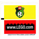 LEGO Sticker Sheet for Set 3410 (23037)