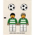 LEGO Sticker Sheet for Set 3414 / 3419 (23236)