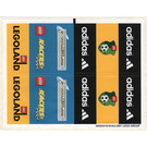 LEGO Sticker Sheet for Set 3421 (42035)