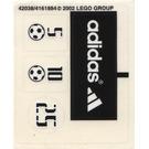 LEGO Sticker Sheet for Set 3424 (42038)