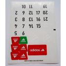 LEGO Sticker Sheet for Set 3426 (43687)