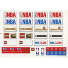 LEGO Sticker Sheet for Set 3433 (45536)