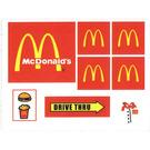 LEGO Sticker Sheet for Set 3438