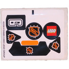 LEGO Sticker Sheet for Set 3543 (46206)