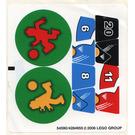 LEGO Sticker Sheet for Set 3570 (54590)