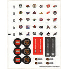 LEGO Sticker Sheet for Set 3578 (49866)