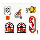 LEGO Sticker Sheet for Set 3670