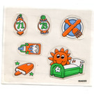 LEGO Sticker Sheet for Set 3672