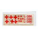 LEGO Sticker Sheet for Set 386 / 770