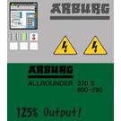LEGO Sticker Sheet for Set 4000001 (74454)