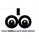 LEGO Sticker Sheet for Set 40005 / 40011 (91231)