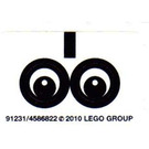 LEGO Sticker Sheet for Set 40005 (91231)