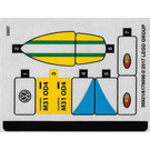 LEGO Sticker Sheet for Set 40252 (30921)