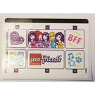LEGO Sticker Sheet for Set 40266 (30951)