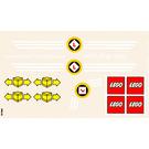 LEGO Sticker Sheet for Set 4030