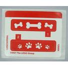 LEGO Sticker Sheet for Set 40440 (76954)