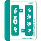 LEGO Sticker Sheet for Set 40441 (76952)