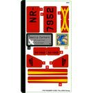 LEGO Sticker Sheet for Set 40450 (77617)