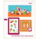 LEGO Sticker Sheet for Set 41008 (11931)