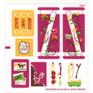 LEGO Sticker Sheet for Set 41039 (16452)