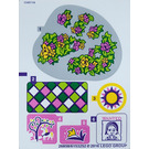 LEGO Sticker Sheet for Set 41065 (26857 / 26858)