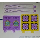 LEGO Sticker Sheet for Set 41077 (21491)