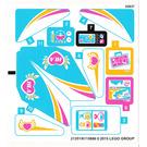 LEGO Sticker Sheet for Set 41100 (21351)