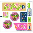 LEGO Sticker Sheet for Set 41108 (21496 / 21498)