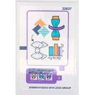 LEGO Sticker Sheet for Set 41115 (25608)