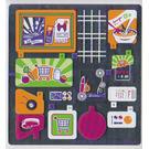 LEGO Sticker Sheet for Set 41118 (25461)