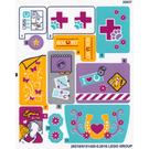 LEGO Sticker Sheet for Set 41125 (26518)