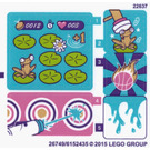 LEGO Sticker Sheet for Set 41127 (26749)