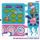 LEGO Sticker Sheet for Set 41127 (26749 / 26751)