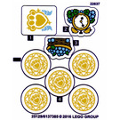 LEGO Sticker Sheet for Set 41142 (25130)