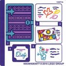 LEGO Sticker Sheet for Set 41169 (65539)