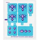 LEGO Sticker Sheet for Set 41172 (25775)