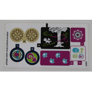 LEGO Sticker Sheet for Set 41173 (25861 / 25862)