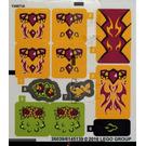 LEGO Sticker Sheet for Set 41175 (26038 / 26039)