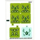 LEGO Sticker Sheet for Set 41176 (26018)