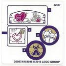 LEGO Sticker Sheet for Set 41177 (26987 / 26988)